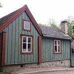 Casa antiga de madeira