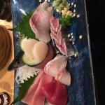 Mackerel Pike and other sashimi
