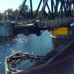 Swivel Bridge close up