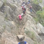 Billy Goat Trail. Going up
