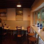 Comfy small restaurant
