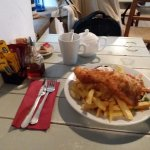 Fish n Chips. Generous portion.