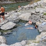 One of the Natural Hot pools
