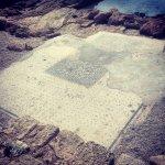 Мозаичный пол дворца Ирода