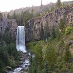 Late Afternoon/Early Evening at Tumalo Falls