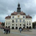 Historisches Lüneburger Rathaus Foto