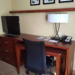 Bedroom workspace at the Courtyard Chicago Schaumburg/Woodfield Mall in Schaumburg, IL