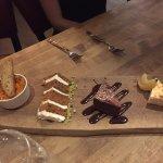 Free Dessert Sampler for poor service