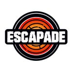 Escapade's updated logo, as of October 2017.