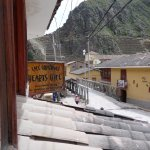 Looking Towards The Inca Ruins.