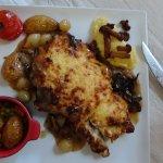 veal with mushroom
