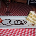 Tiramisu was scrumptious for dessert!!!