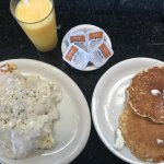 Pancakes and Biscuits with Gravy