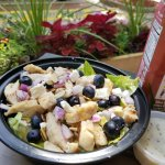 Blueberry Feta Salad (seasonal)