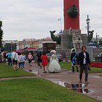 Rostra promenade is popular with locals, tourists, and performers