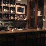 Full bar at Cafe Josie