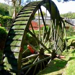 A working wheal on the museum site