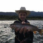 Just five minutes from Fireside Resort is easy access to the Snake River for catching the hatch.