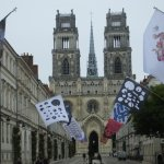 flags and facades