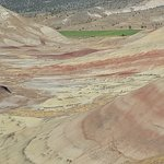 Additional view of the Painted Hills Unit from the Overlook Trail