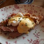Utterly delicious Eggs Benedict from the Sunday Brunch menu.