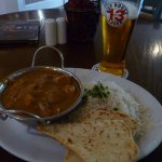 Chicken curry at the bar