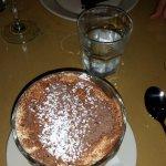 Tiramisu and chocolate torta.