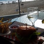The Bay Club burger - BEST IN SOUTHERN CALIFORNIA!!!
