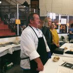 Chef Mark at Dee Stadium for Parade of Nations