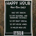 Happy Hour Specials