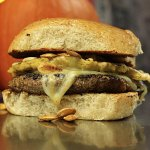 Pumpkin Spice Latte Burger