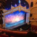 View from our Seats inside the theatre