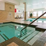 Salt-water pool and hot tub