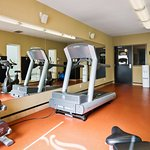 There is no need to take a break from your regular fitness routine during your stay with us.