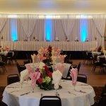 Stunning wedding set-up