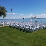 Manicured lawn for your special day