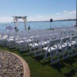 Amazing backdrop to your wedding day!