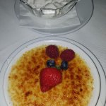 Creme Brulee with Chantilly Cream