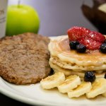 Start each day with a complimentary breakfast; don't forget to try our pancake and waffle statio