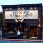 Pioneer Saloon viewed from across Main Street