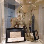 Model of Morgan's statue.