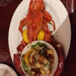 1 1/2 lb lobster and caesar salad