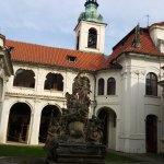 Courtyard at The Prague Loreto