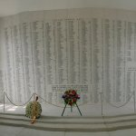Wall of heros who died as the result of the bombimg Sunday Dec 7th 1941
