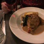 Chicken Marsala with Crispy Polenta