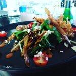 Capsicum Lentil and Arugula Salad