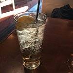 Ginger ale with lemon