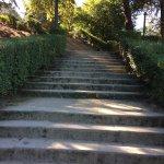 forma de acesso...precisa estar disposto a subir muitas escadas