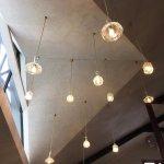 Stunning restaurant ceiling