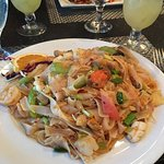 Sweet Chili Noodle Seafood